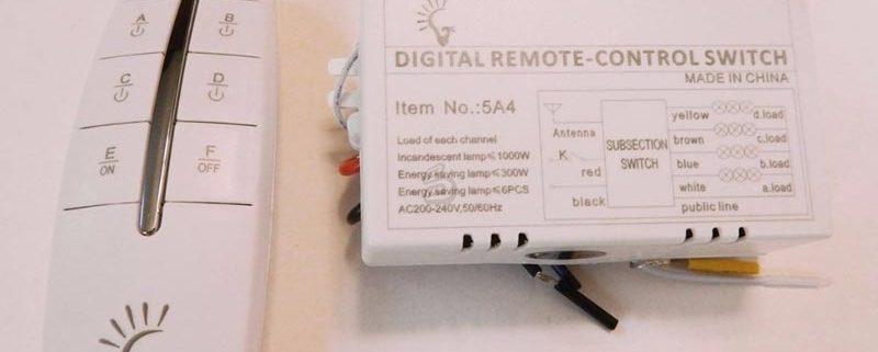 نحوه نصب ریموت کنترل قطع و وصل برق