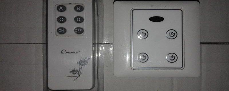 کاربرد ریموت کنترل لامپ و روشنایی